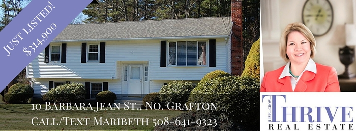 Photo of home for sale at 10 Barbara Jean Street in Grafton MA