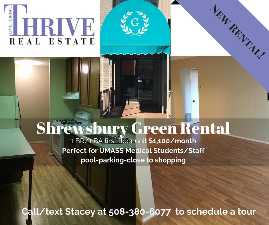 Shrewsbury Green Rental