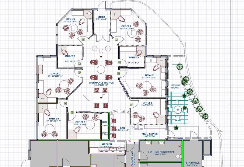 555 Shared Offices Shrewsbury Floor Plan