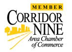 Corridor Nine Chamber of Commerce logo