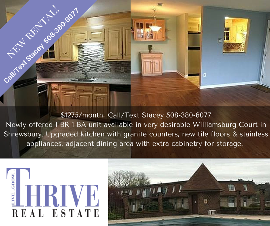 6 Williamsburg Court Shrewsbury MA & Shrewsbury Rental- 6 Williamsburg Court #11 - Shrewsbury MA Real ...