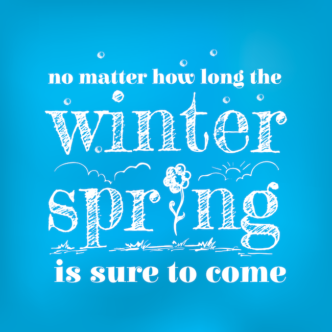 Think Spring Quote RS