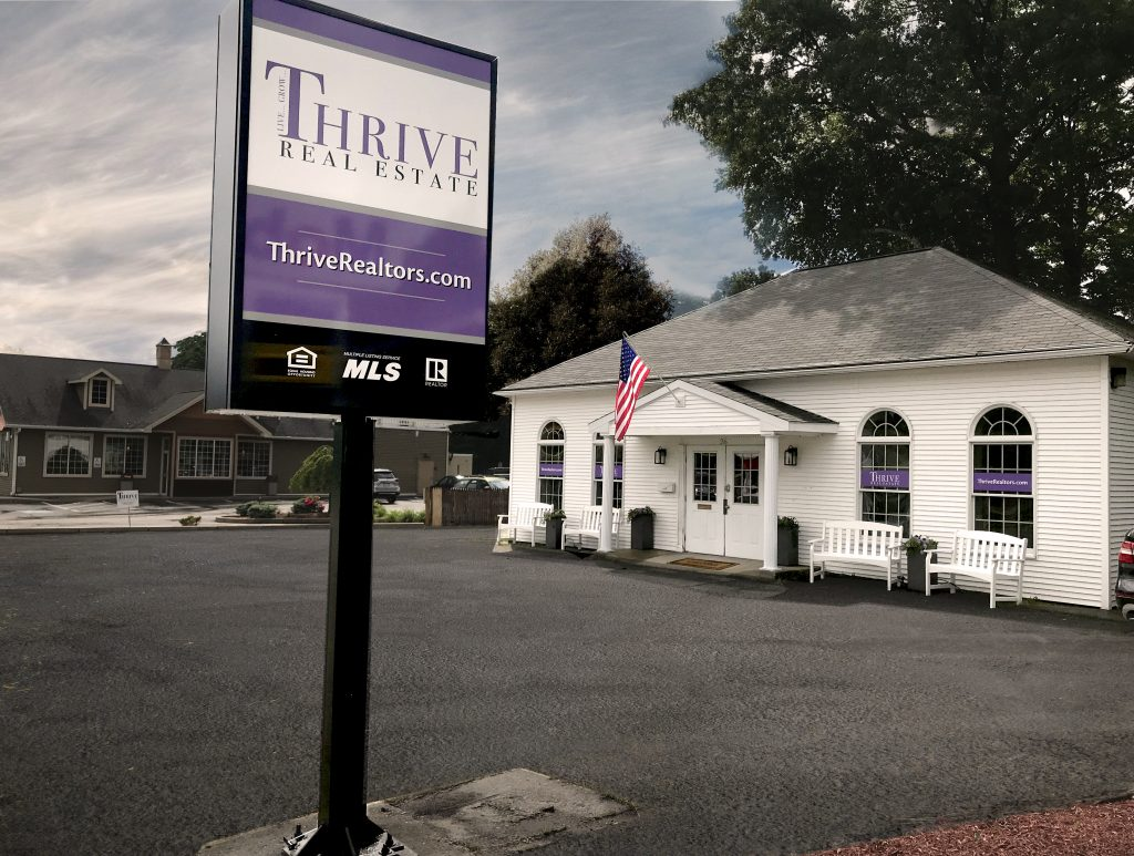 photo of the new office of Thrive Real Estate in Shrewsbury MA